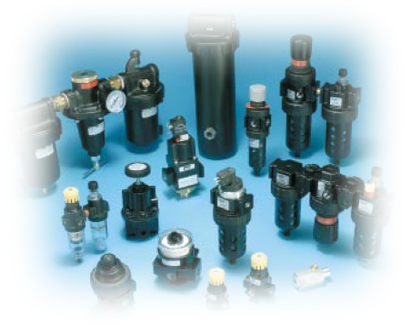 Air Preperation units, filters, regulators, and lubricators