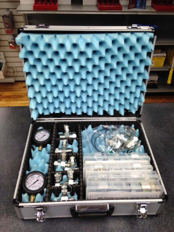 HFI Fluid Power Products Hydraulic Pressure Test Kit