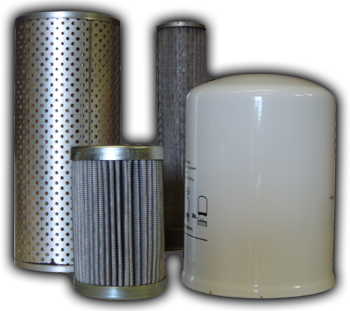 Stocking distributor of spin on and cartridge style filter elements